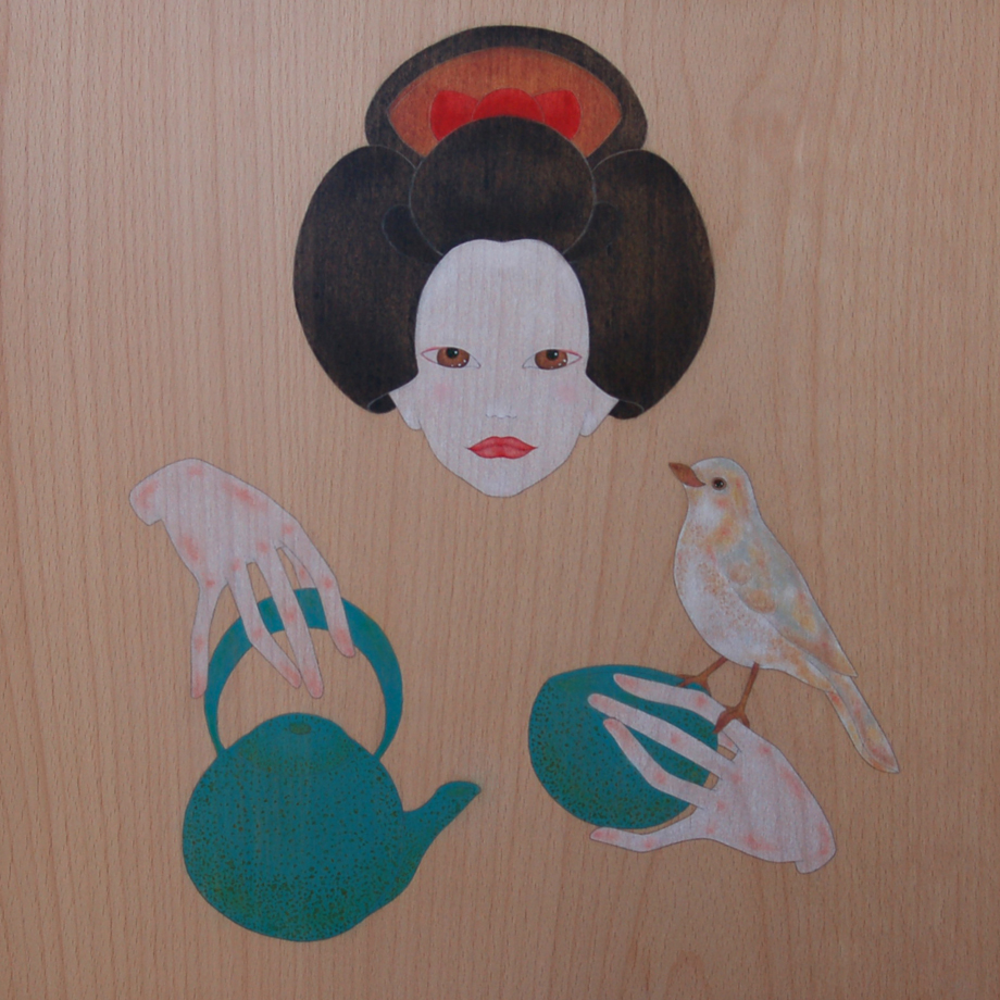 """geisha & the tea ceremony"""