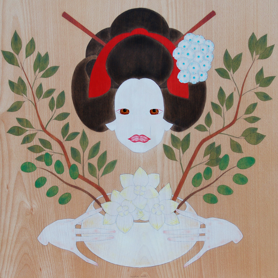 """maiko & the art of i-kebana"""
