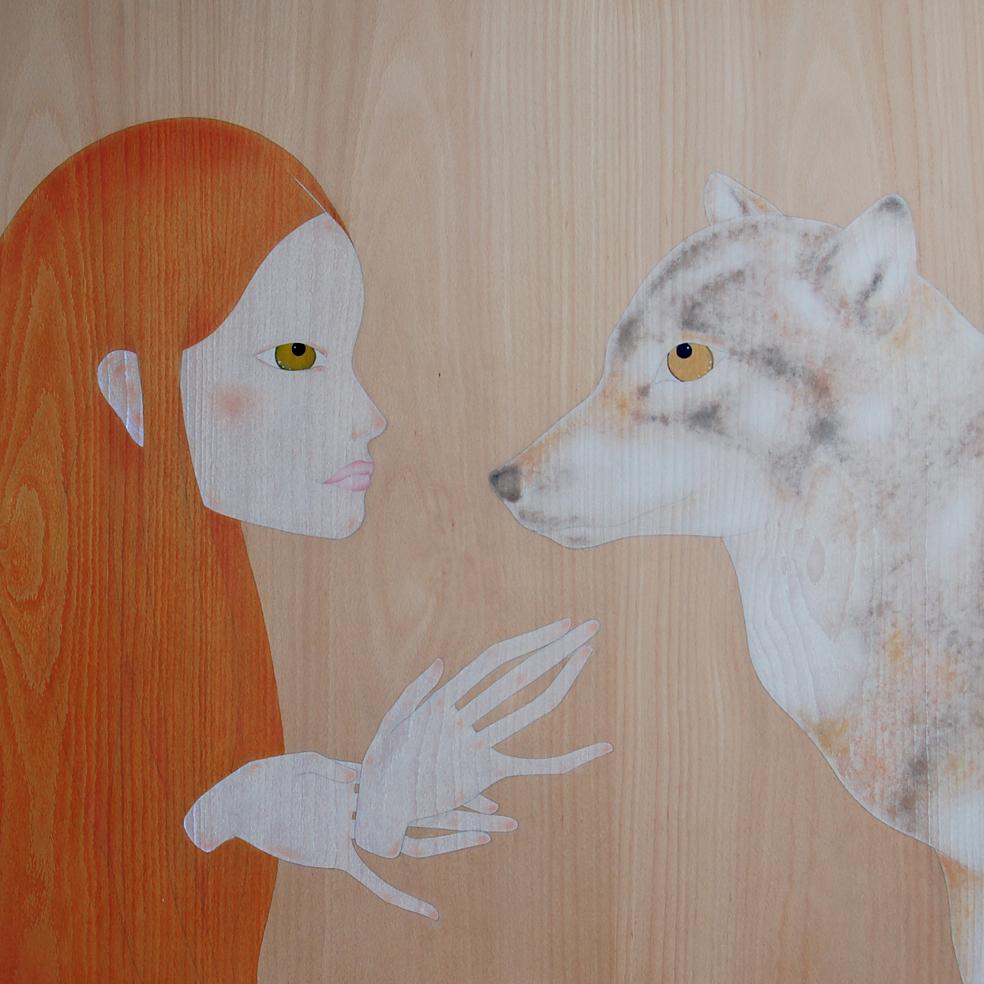 """""""noia i llop"""""""
